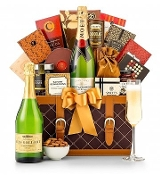 Champagne Wishes Gift Basket One Moet & Chandon