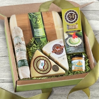 Artisan Favorites Meat and Cheese Gift Box