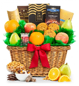 Five Star Premium Grade Fruit Basket